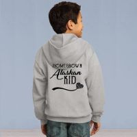 Homegrown Alaskan Youth Full Zip Hooded Sweater