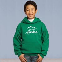 Home Grown Alaskan Youth Pull Over Hooded Sweater
