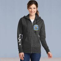 Memories in the Making Logo Ladies Full Zip Hooded Sweater