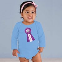Grand Champion ASF Ribbon Onesie Baby Blue