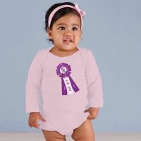Grand Champion ASF Ribbon Onesie Pale Pink